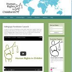 Human Rights In Childbirth Web Design by JRyven
