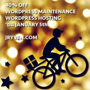 Holiday Sale WordPress Management and Hosting