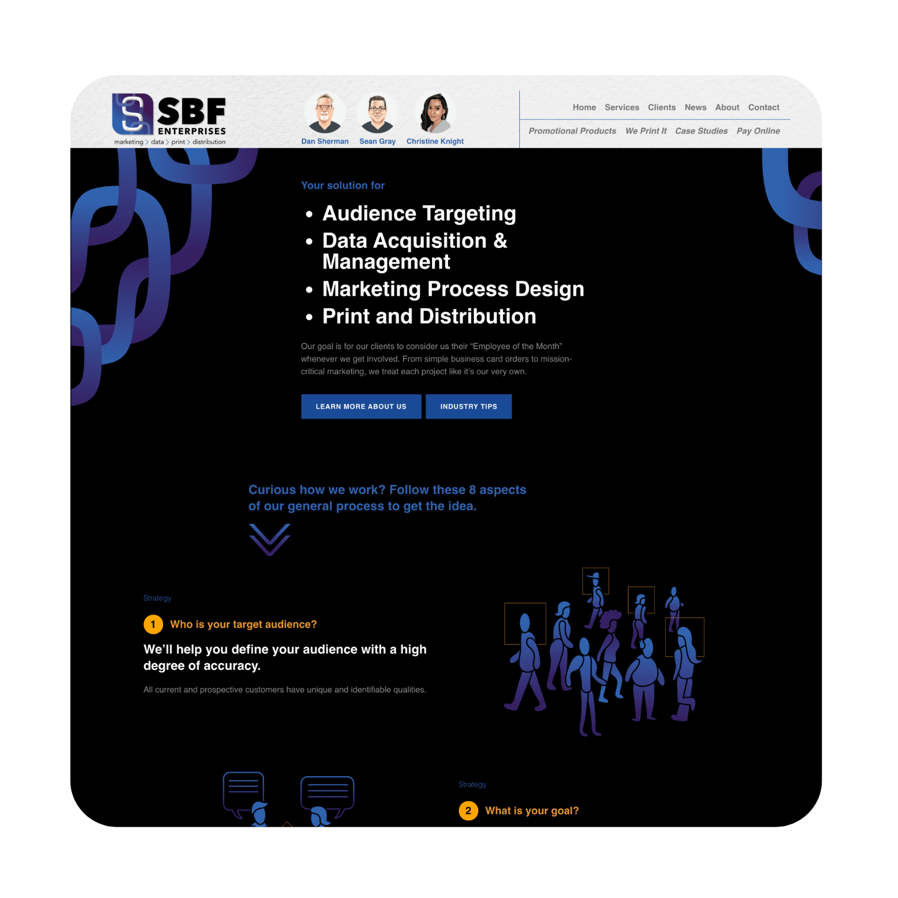 SBF – Website One